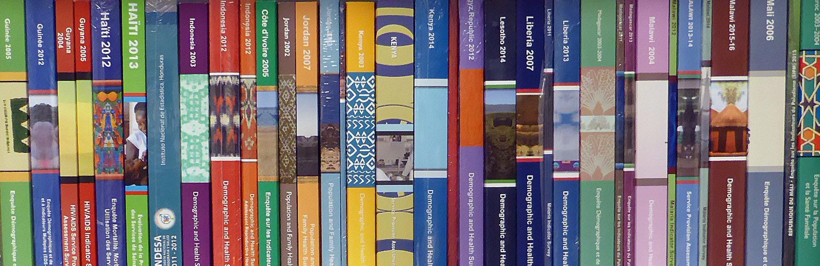 Bookshelf of Demographic and Health Surveys